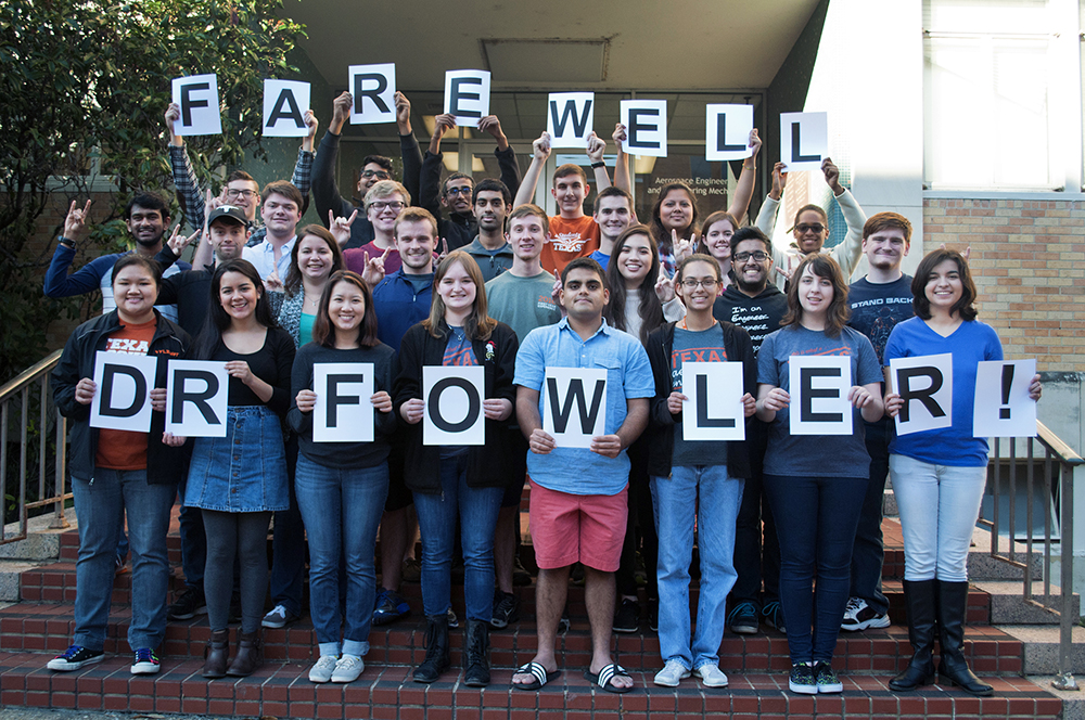 farewell dr fowler students