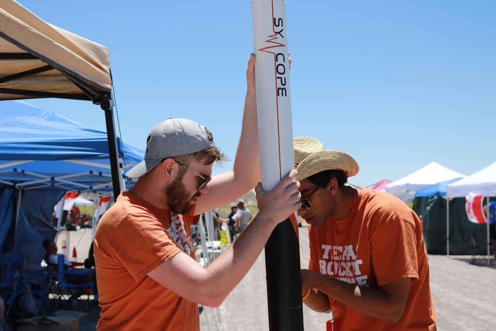 Syncope rocket competition photo