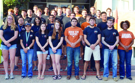 Longhorn Rocketry Association group