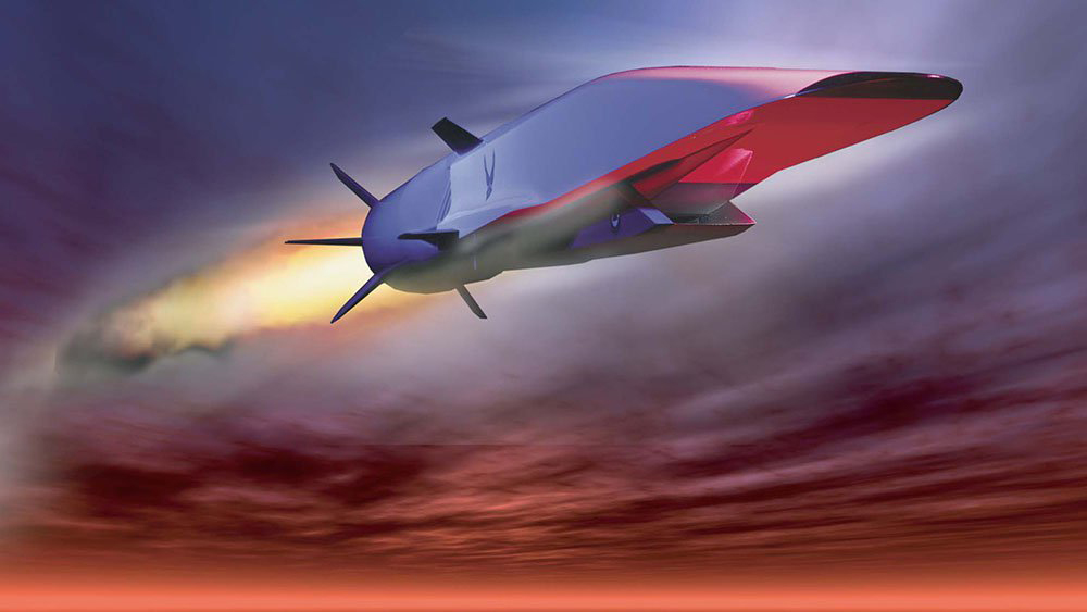 hypersonic air vehicle illustration
