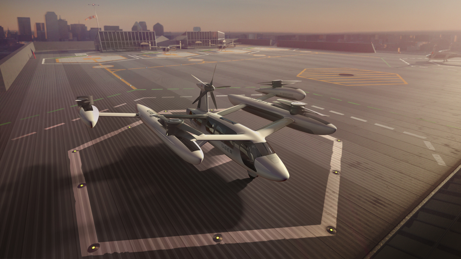 uberair vehicle rendering