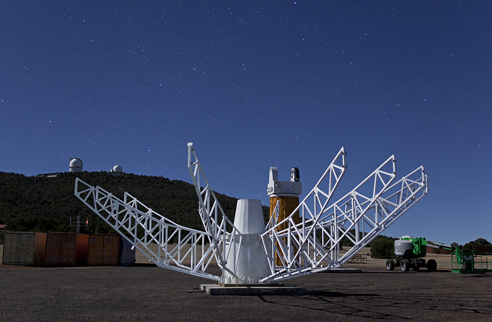 geodetic observatory dish